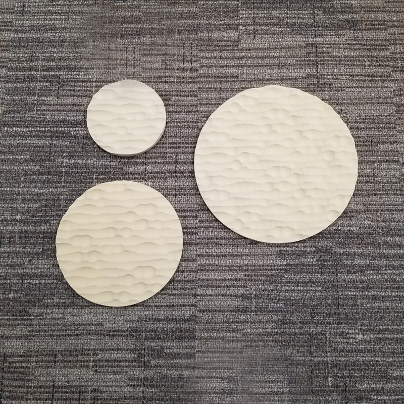 Water Round Sculpted Panel