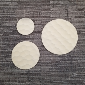 Hive Round Sculpted Panel