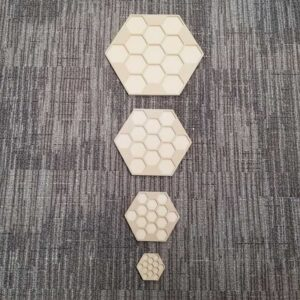 Hexagon Sculpted Panel
